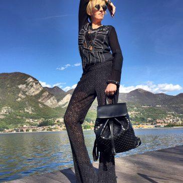 Lace Black Pants