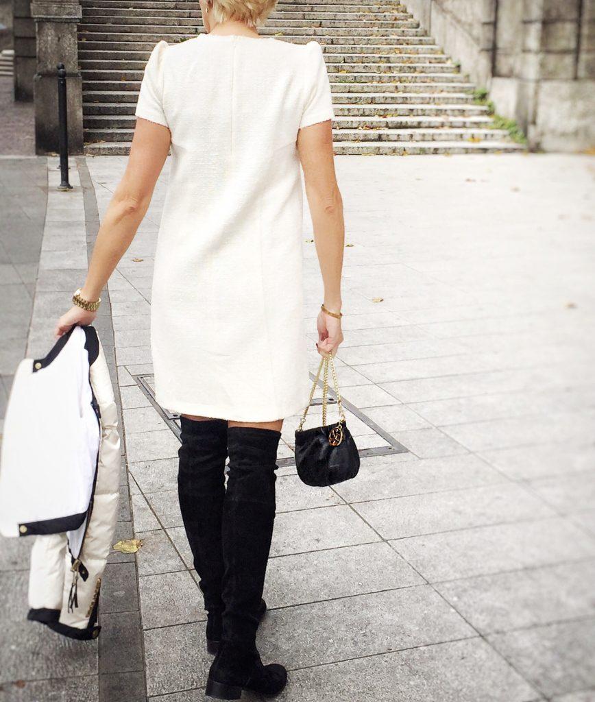 TWEED SANDRO FERRONE DRESS