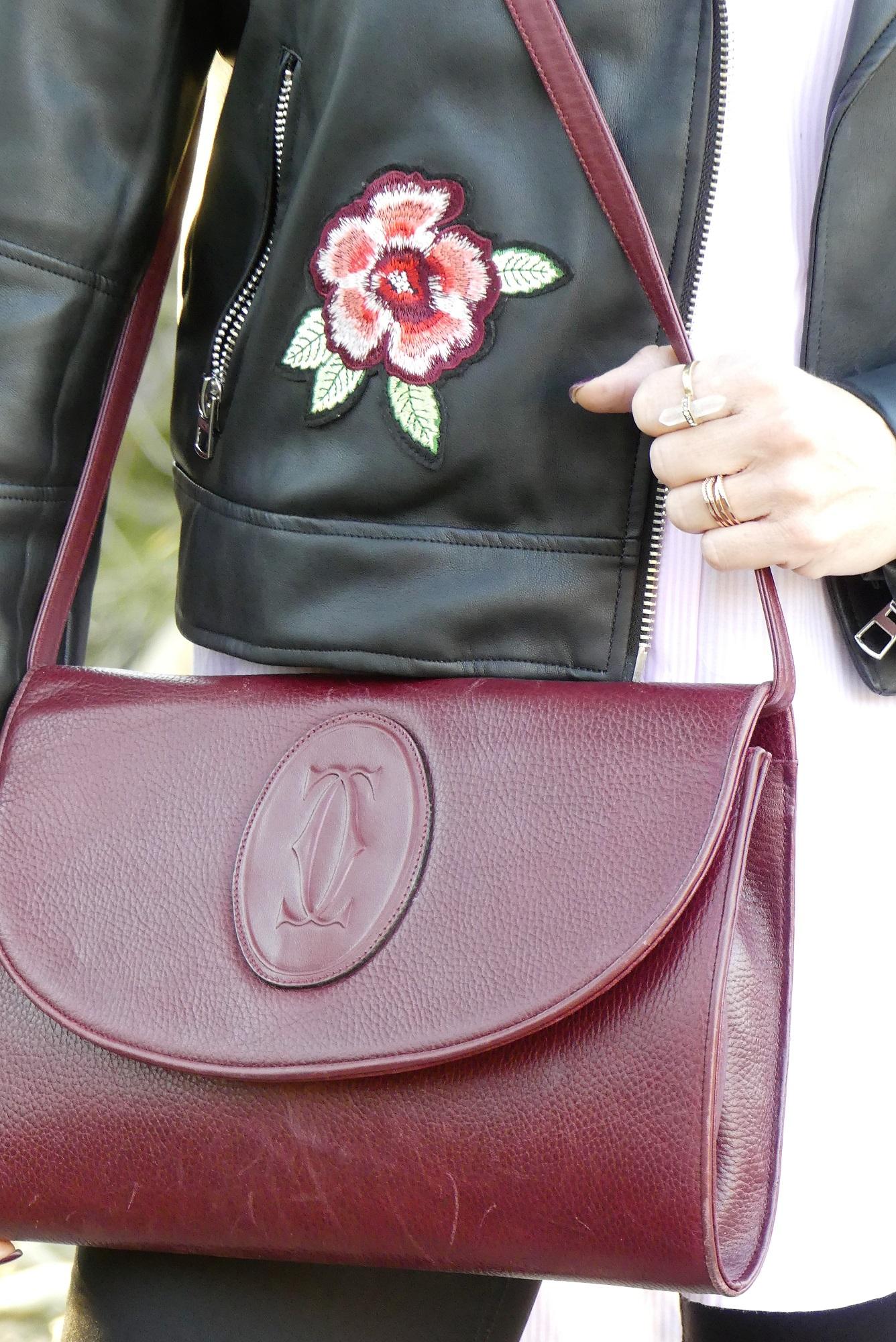vintage cartier shoulder bag