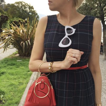 DAILY CHIC: How to balance a midi dress