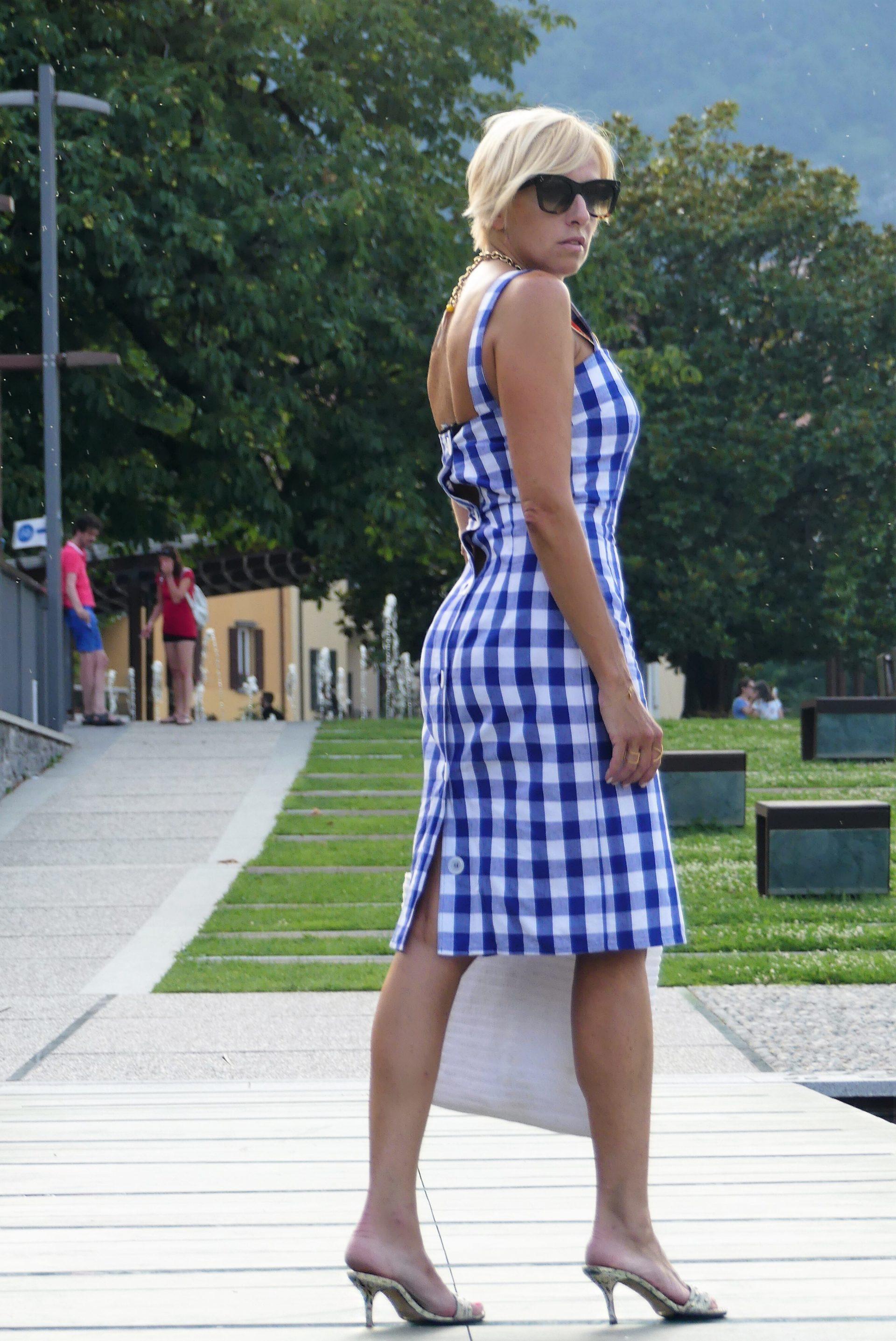 dolce gabbana dress and mukes