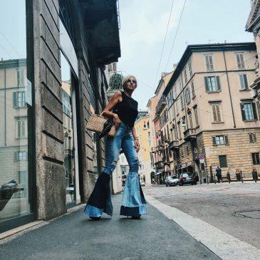 Jeans a zampa  |Milena Andrade
