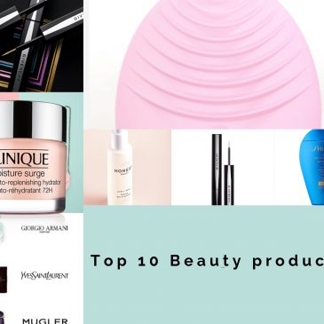 10 top beauty products | Summer 2019