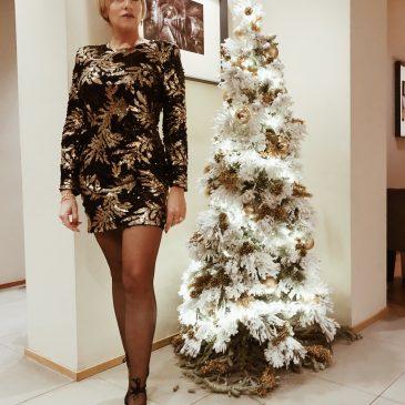 Vestito con pailettes | Christmas Glam
